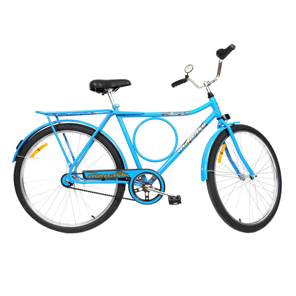 Imagem de Bicicleta Aro 26 Barra Circular Cp Lazer Monark