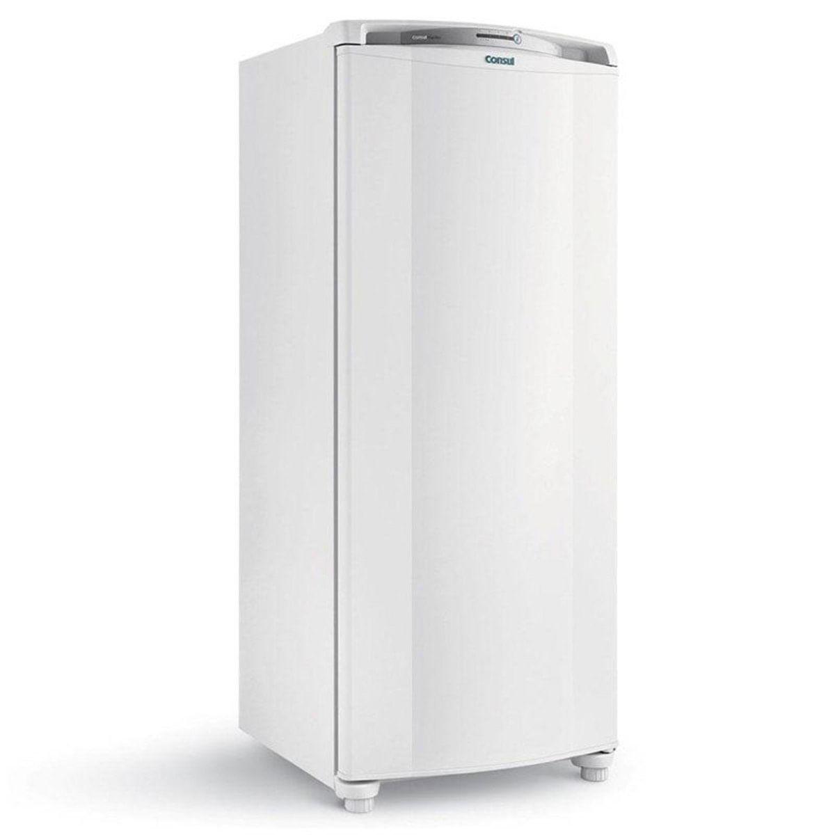 Geladeira Consul Frost Free Simples 1 Porta Facilite CRB36ABANA 300 Litros Branca - 110V