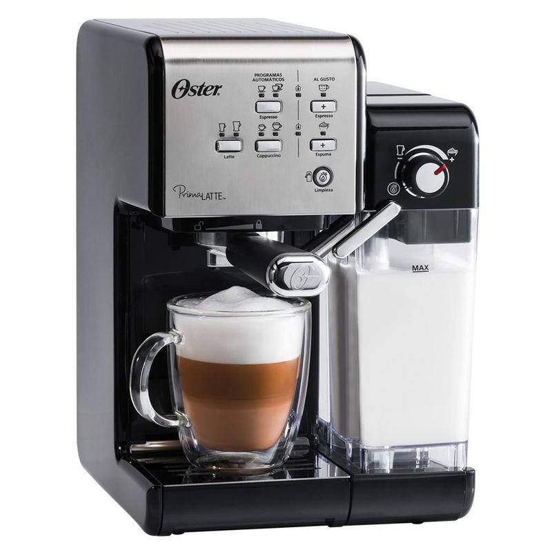 Cafeteira Expresso Oster Primalatte Ii Prata 110v - Bvstem6701ss