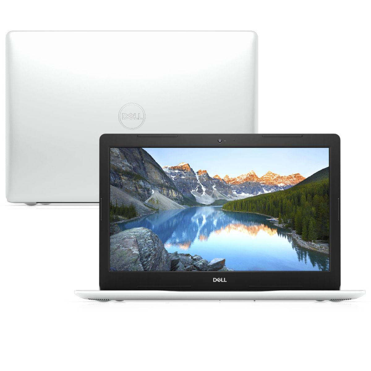 "Notebook - Dell I15-3583-ms90b I7-8565u 1.80ghz 8gb 256gb Ssd Intel Hd Graphics 620 Windows 10 Home Inspiron 15,6"" Polegadas"