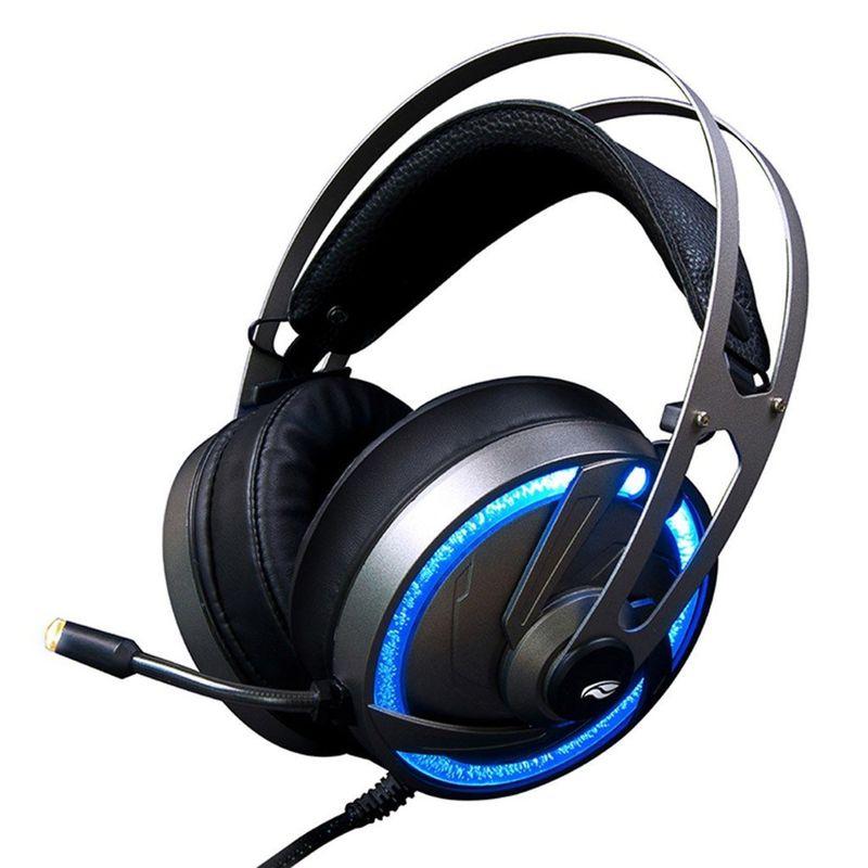 Fone de Ouvido Headset Gamer Goshawk Led Rgb C3 Tech Ph-g300si