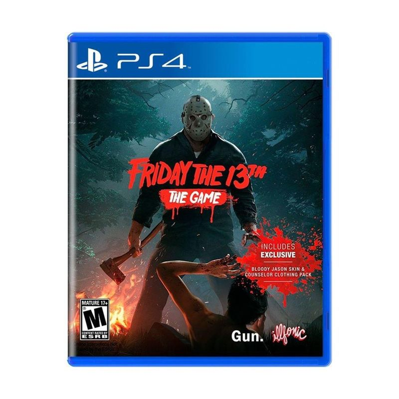 Jogo Friday The 13th The Game - Playstation 4 - Illfonic