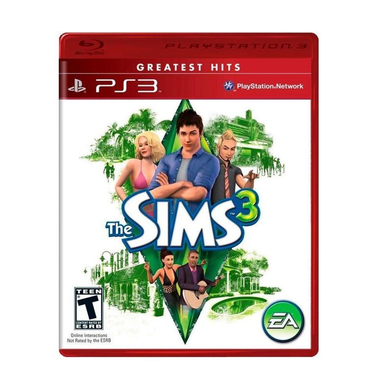 Jogo The Sims 3 - Playstation 3 - Ea Games