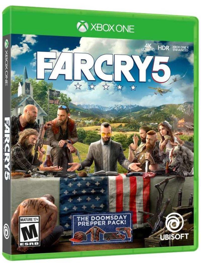 Jogo Far Cry 5 Steelbook - Xbox One - Ubisoft