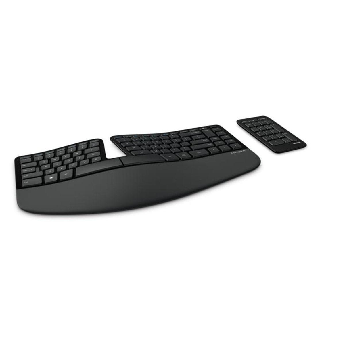 Teclado Wireless Sculpt Ergonomic Desktop 5kv-00001 Microsoft
