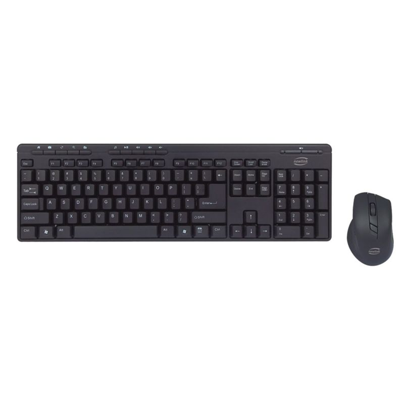 Kit Teclado e Mouse Plug And Play Newlink