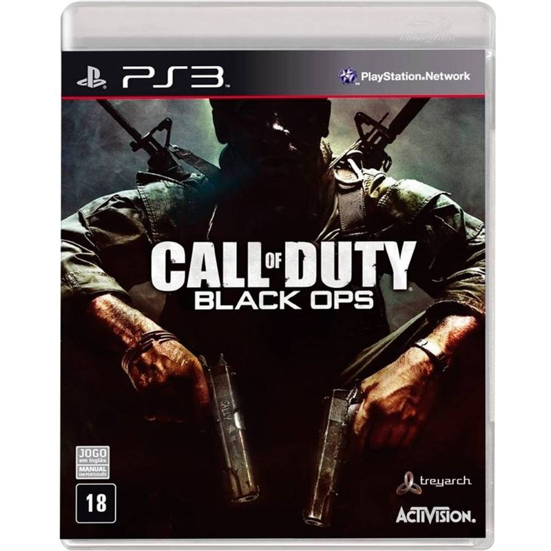 Jogo Call Of Duty Black Ops - Playstation 3 - Activision