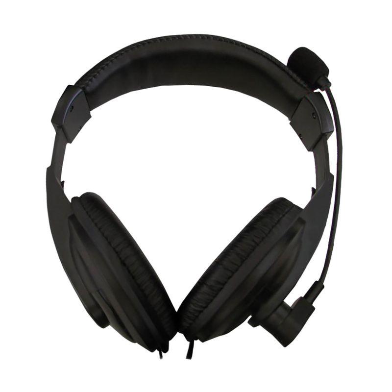 Fone de Ouvido Headphone Stereo Preto K-mex Ars7500