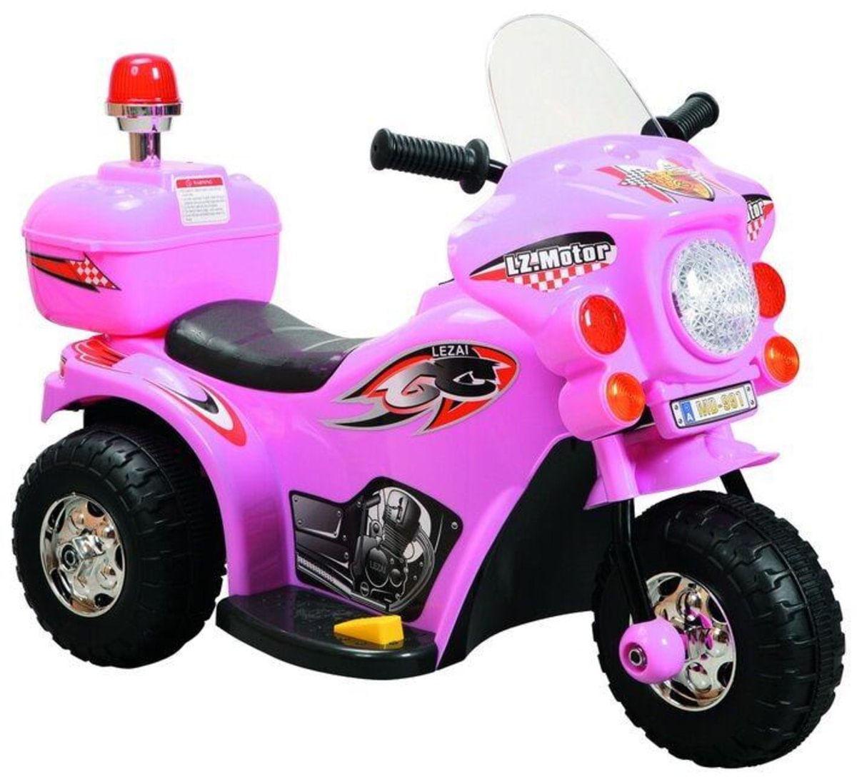 Menor preço em Mini moto Elétrica Infantil 7,5v-Rosa