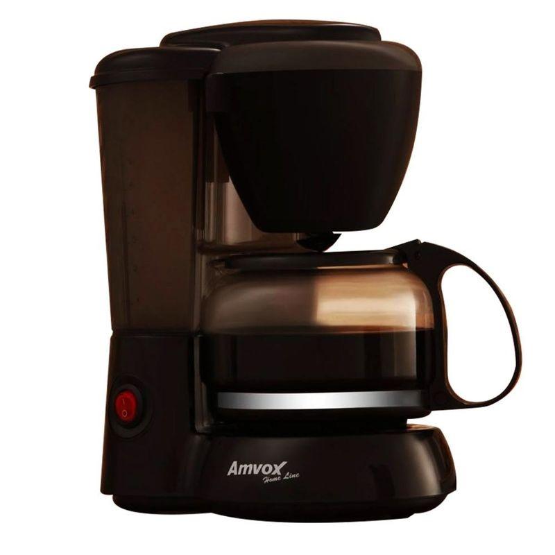 Cafeteira Elétrica Amvox Preto 110v - Acf 227n