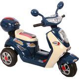 Moto Elétrica Infantil Lambreta Azul - Bel Brink