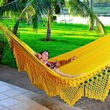 Rede de Dormir Casal Clone Amarela