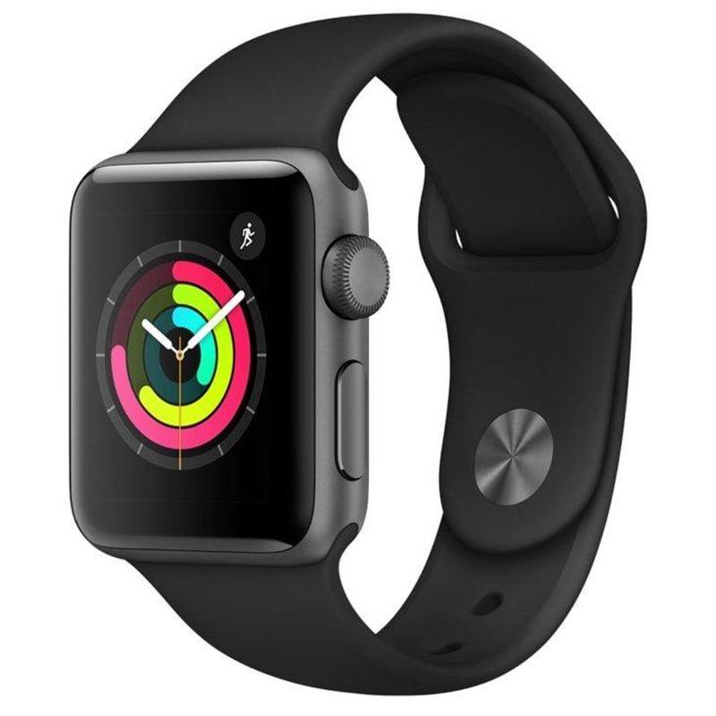 MP13932574_Apple-Watch-Series-3-38-mm-Aluminio-Cinza-Espacial-Pulseira-Esportiva-Preto-e-Fecho-Classico---MTF02BZ-A_1_Zoom
