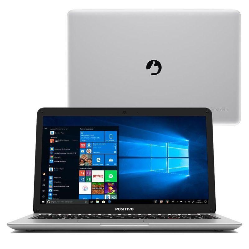 """Notebook - Positivo C4500a Celeron N4000 1.10ghz 4gb 500gb Padrão Intel Hd Graphics Windows 10 Home Motion 14"""" Polegadas"""