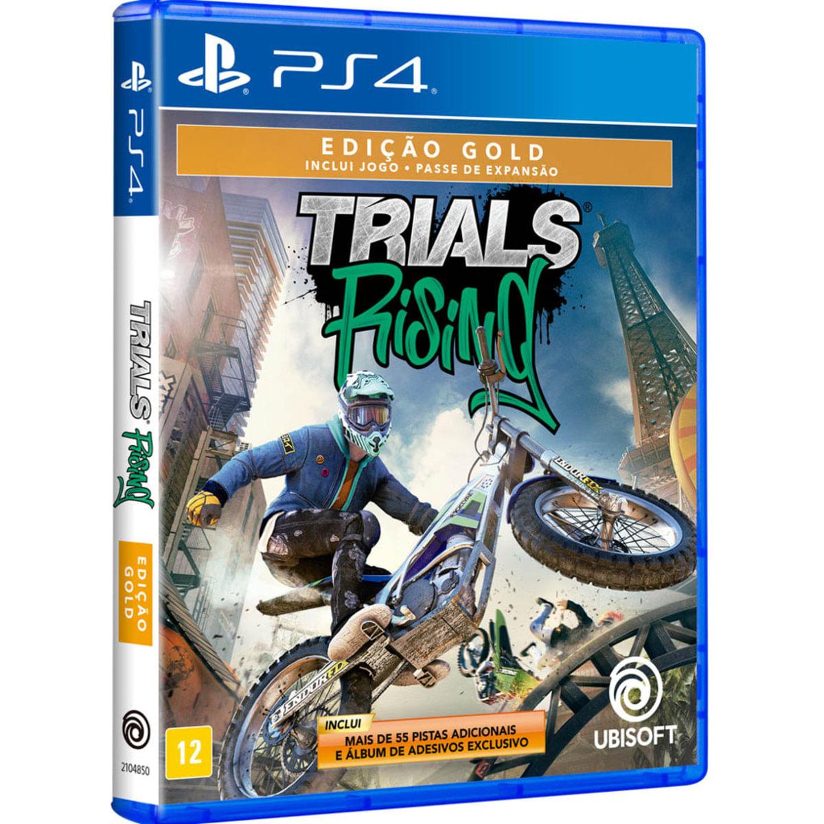 Jogo Trials Rising - Edição Gold - Playstation 4 - Ubisoft
