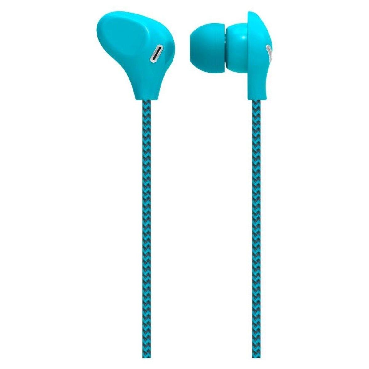 Fone de Ouvido Intra-auricular Com Microfone Azul Multilaser Ph195