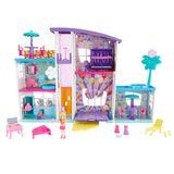 Playset 45 Cm e Boneca - Polly Pocket - Mega Casa de Supresas - Mattel