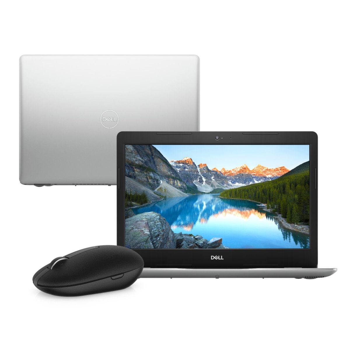 """Notebook - Dell I14-3480-m30m I5-8265u 1.60ghz 4gb 1tb Padrão Intel Hd Graphics 620 Windows 10 Home Inspiron 14"""" Polegadas"""