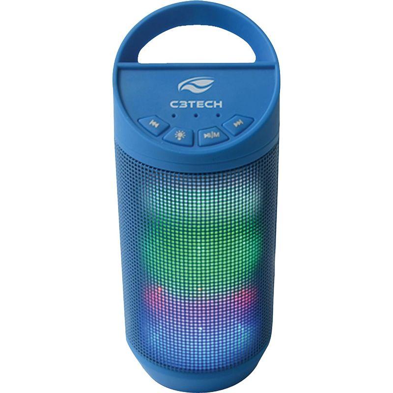 Caixa de Som C3 Tech Azul Sp-b50