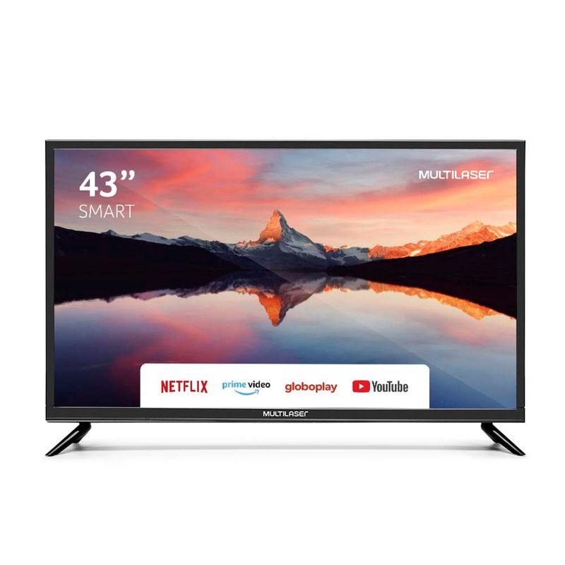 "Tv 43"" Led Multilaser Full Hd Smart - Tl012"