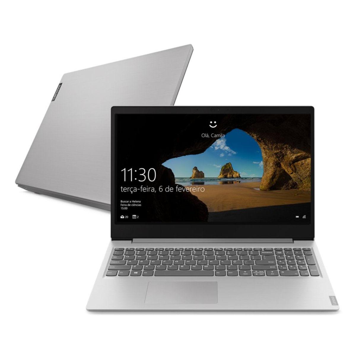 Imagem de Notebook Lenovo Ideapad S145 i7-1065G7 8GB SSD 256GB Iris Plus Graphics Tela 15,6