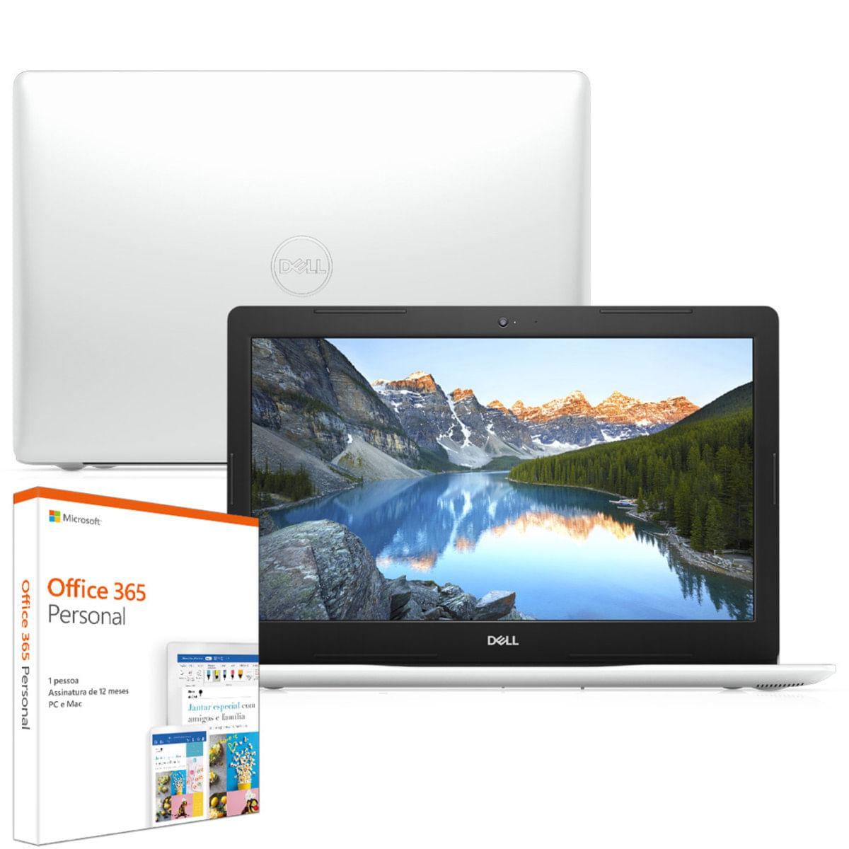 Notebook - Dell I14-3481-m200sf I3-7020u 3.20ghz 4gb 128gb Ssd Intel Hd Graphics 620 Windows 10 Home Inspiron 14