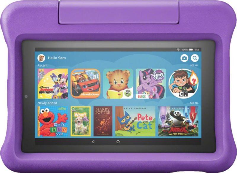 Tablet Amazon B07h936bzt Roxo 16gb