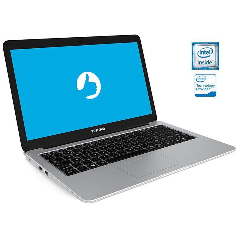 Notebook - Positivo C41tai Celeron N3350 2.40ghz 4gb 1tb Padrão Intel Hd Graphics 500 Linux Motion 14