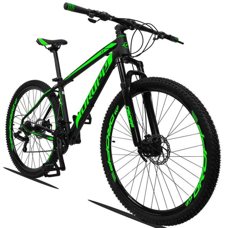 Bicicleta Dropp Z3 2020 Disc M T21 Aro 29 Susp. Dianteira 21 Marchas - Preto/verde