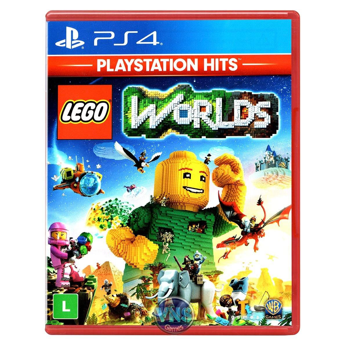 Jogo Lego Worlds Hits - Playstation 4 - Warner Bros Interactive Entertainment