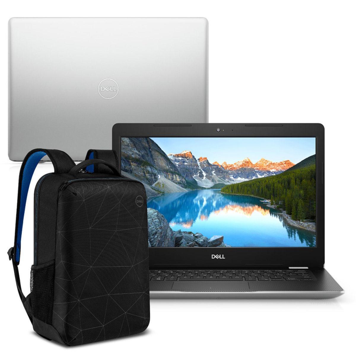 "Notebook - Dell I14-3481-m40sb I3-8130u 2.20ghz 4gb 128gb Ssd Intel Hd Graphics 620 Windows 10 Home Inspiron 14"" Polegadas"