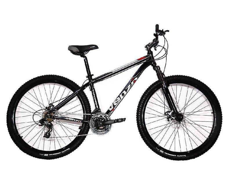 Bicicleta Venzo Bike Aquila T17 Aro 29 Susp. Dianteira 21 Marchas - Preto/vermelho