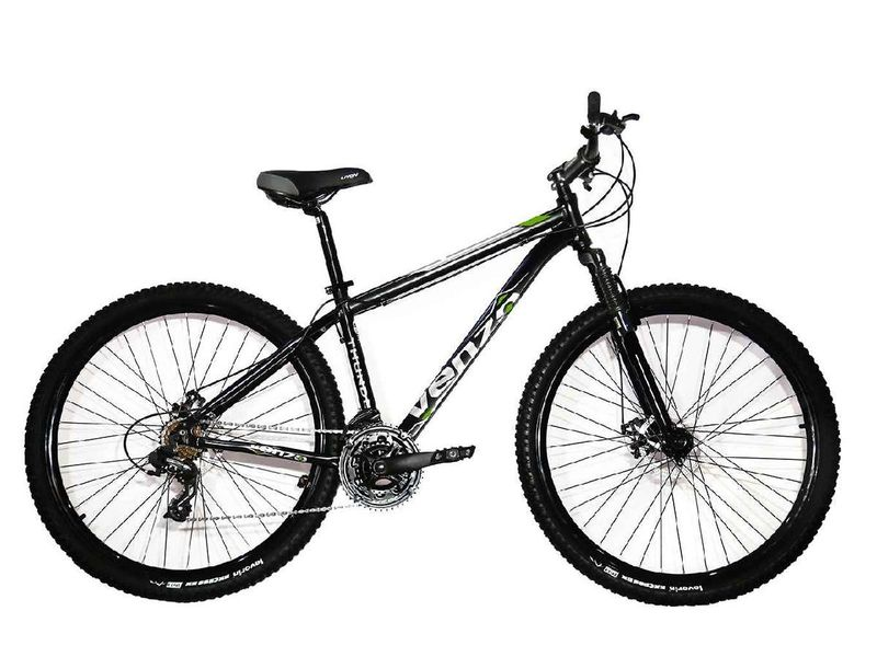 Bicicleta Venzo Bike Aquila T17 Aro 29 Susp. Dianteira 27 Marchas - Preto/verde