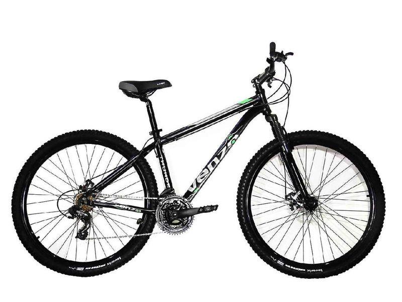 Bicicleta Venzo Bike Aquila T15 Aro 29 Susp. Dianteira 27 Marchas - Azul/preto