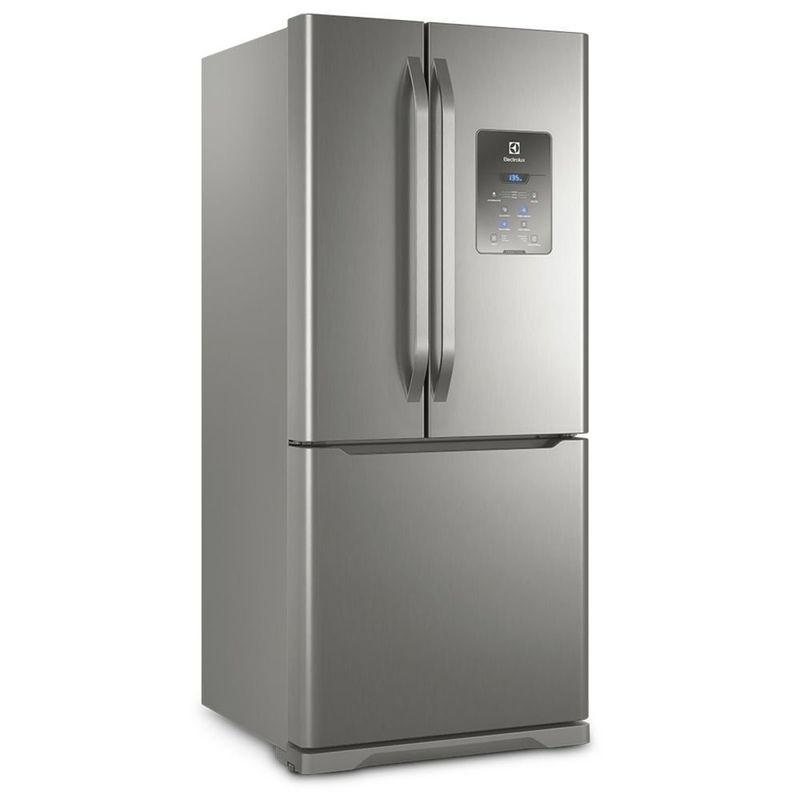 Geladeira/refrigerador 579 Litros 3 Portas Inox - Electrolux - 110v - Dm84x