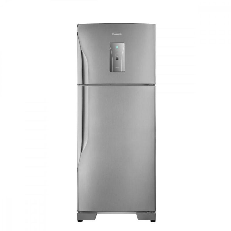 Geladeira/refrigerador 435 Litros 2 Portas Aço Escovado - Panasonic - 110v - Nr-bt50bd3xa