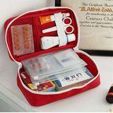 Necessaire Porta Medicamentos Primeiros Socorros Organizador Viagem