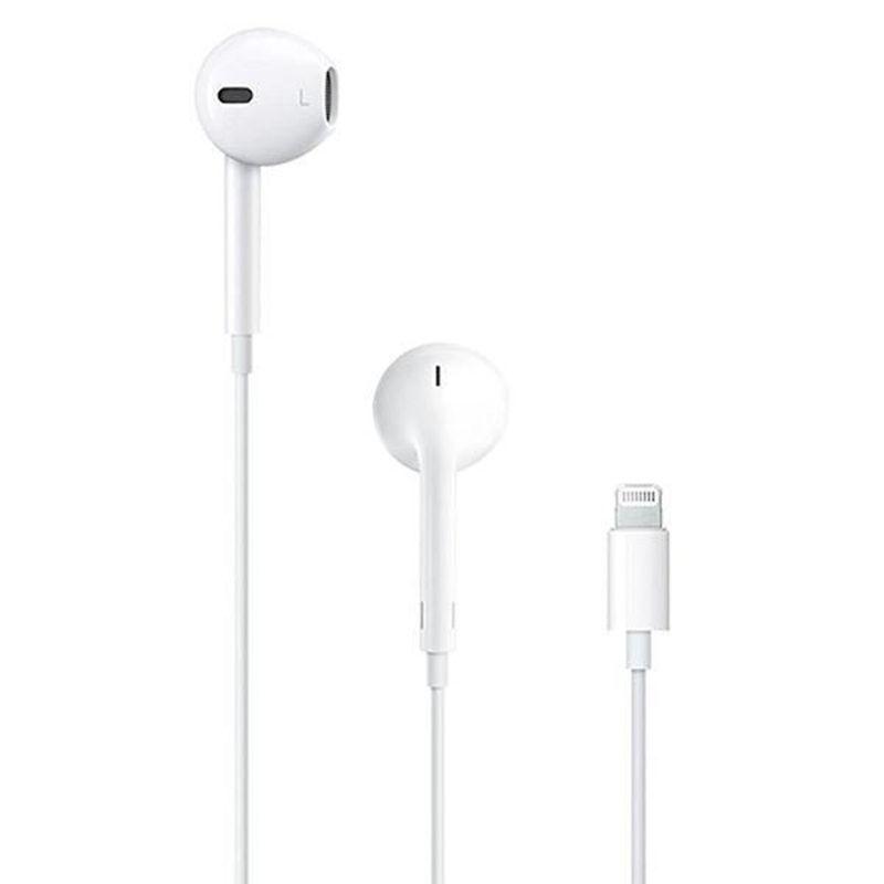 Fone de Ouvido Earpods A1748 Branco Apple Mmtn2am/a