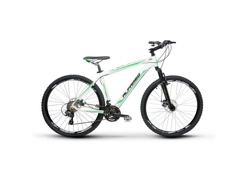 Bicicleta Alfameq Zahav T21 Aro 29 Susp. Dianteira 21 Marchas - Branco/verde