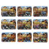 Hot Wheels Pack De 2 Carrinhos Monster Truck Surpresa Fyj64