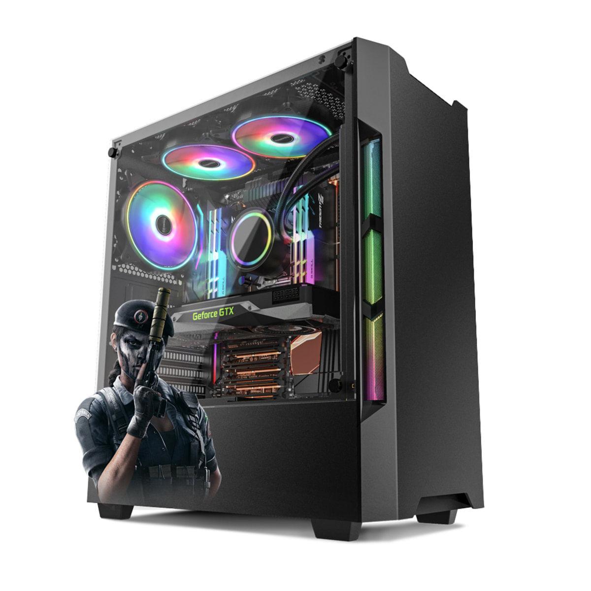 PC Gamer Neologic Rainbow Six NLI81665 Intel i5-9400F 8GB (GTX 1660 6GB ) 1TB