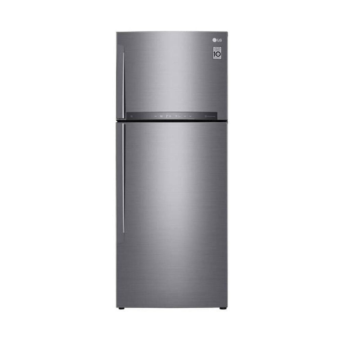 Geladeira/refrigerador 438 Litros 2 Portas Inox Smart Top - LG - 220v - Gt44bpp1