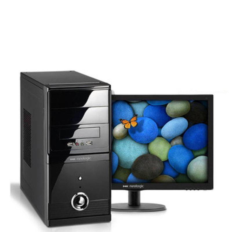 Desktop Neologic Nli56958 I3-6100 3.70ghz 8gb 1tb Intel Hd Graphics Windows 7 Com Monitor