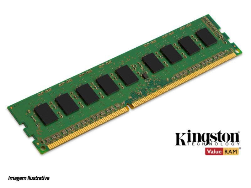 Memória Ram 8gb Ddr3 1600mhz Kcp316nd8/8 Kingston