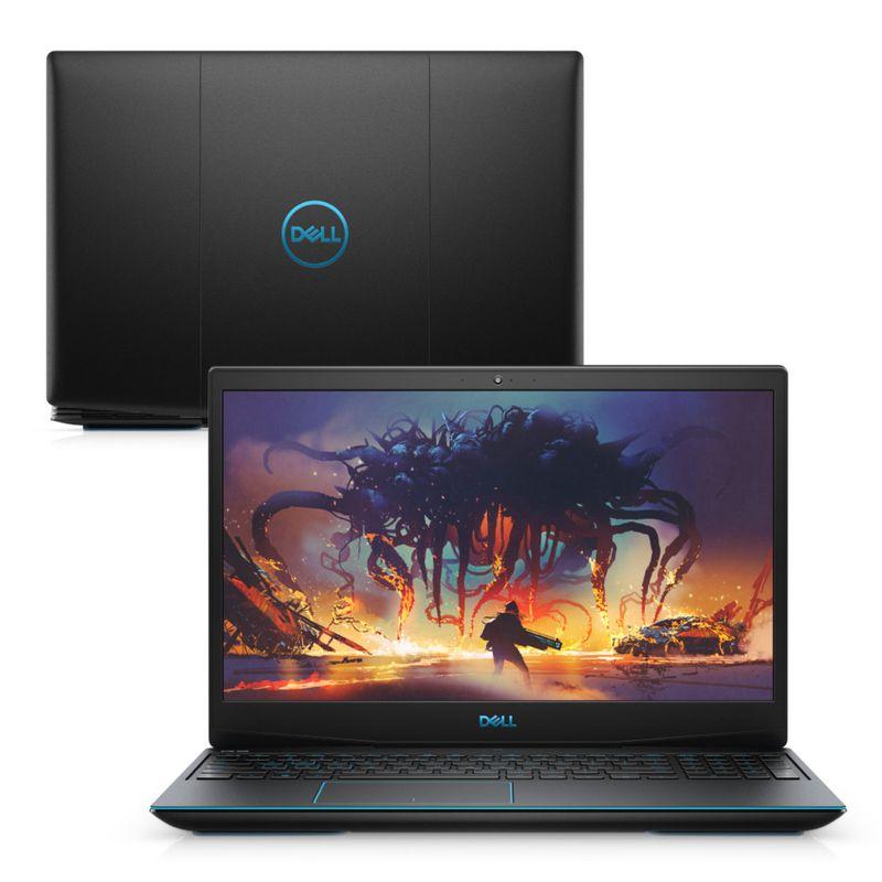 """Notebookgamer - Dell G3-3590-u60p I7-9750h 4.0ghz 8gb 512gb Ssd Geforce Gtx 1660 Ti Linux Gaming 15,6"""" Polegadas"""