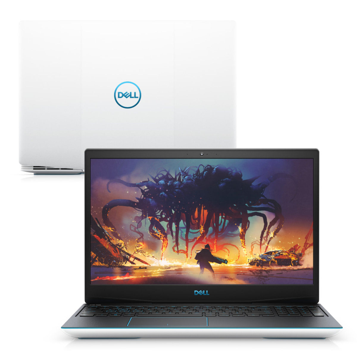 "Notebookgamer - Dell G3-3590-m60b I7-9750h 4.0ghz 8gb 128gb Ssd Geforce Gtx 1660 Ti Windows 10 Home Gaming 15,6"" Polegadas"