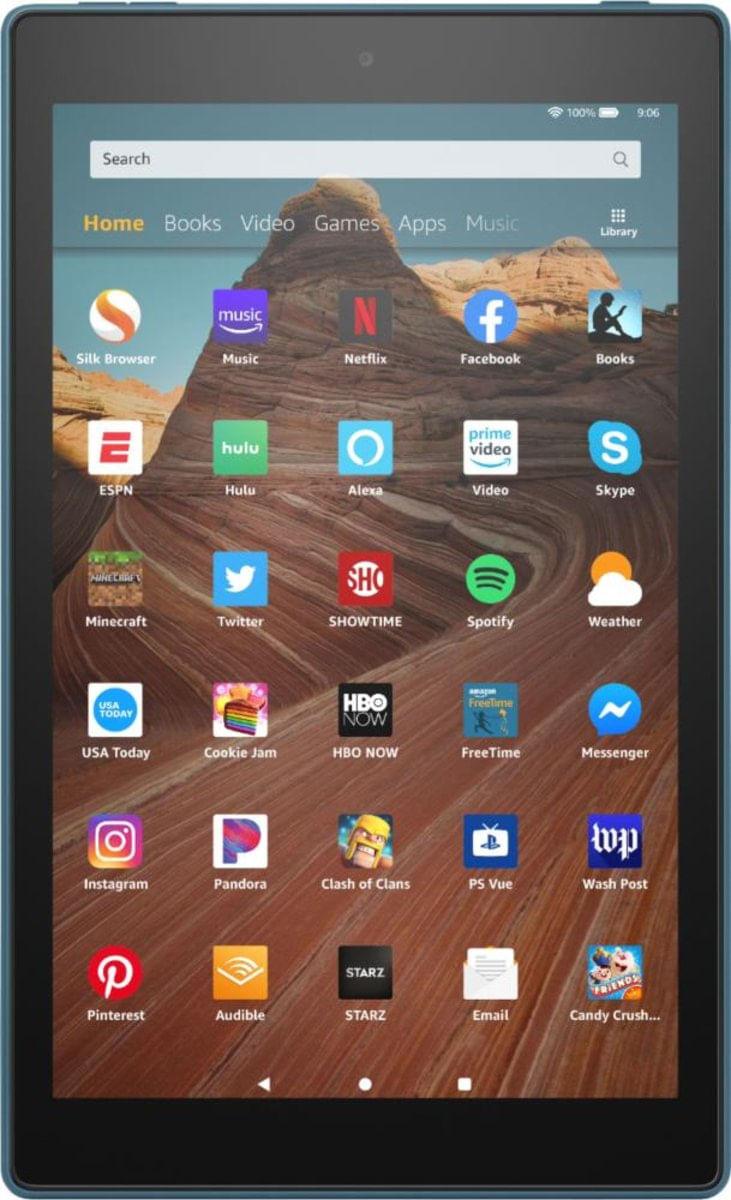 Tablet Amazon Fire Hd 2019 B07kd7fb5l Azul 64gb