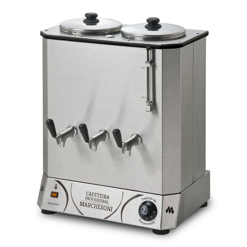 Cafeteira Industrial/comercial Marchesoni Profissional Inox 110v - Cf4121122