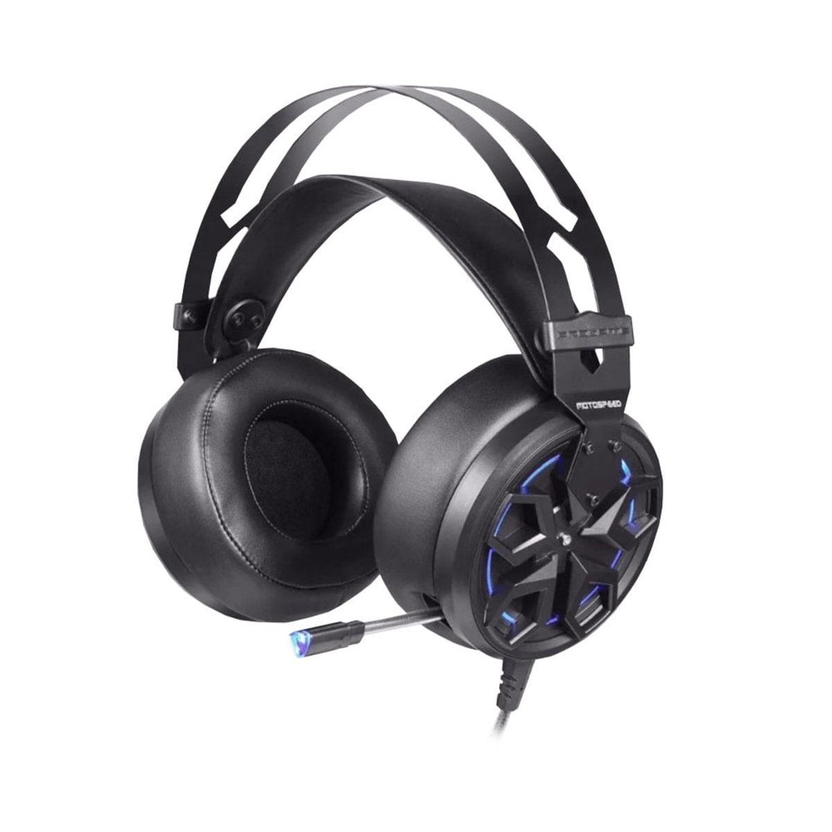 Fone de Ouvido Black Usb Dolby Digital Surround 7.1 Motospeed H60