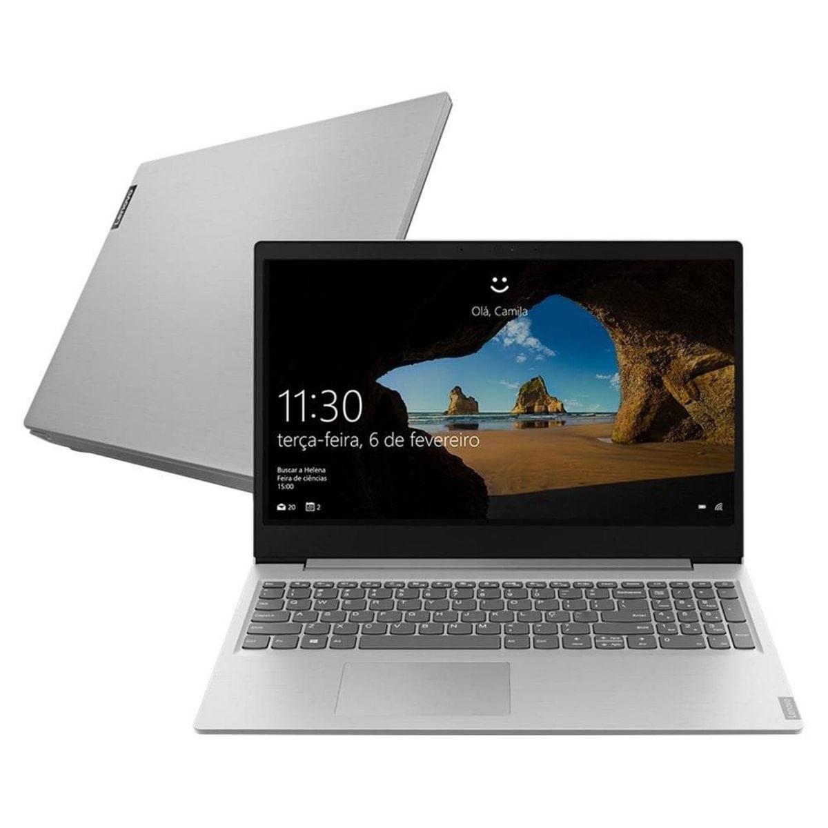 "Notebook - Lenovo 81s9000cbr Celeron N4000 1.10ghz 4gb 500gb Padrão Intel Hd Graphics 600 Windows 10 Professional Ideapad S145 15,6"" Polegadas"